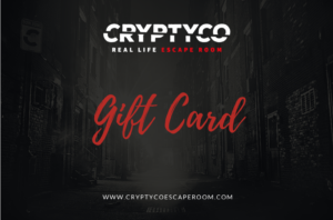 gift card voucher cryptyco escape room true detective real life escaperoom Milano Italia